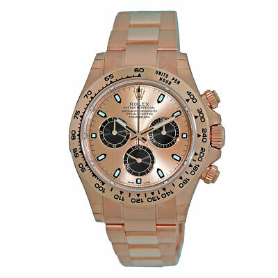 $ CDN48863.61 • Buy ROLEX Rose Gold 40mm Daytona Cosmograph Pink 116505 UNWORN 2020 Warranty Box NEW