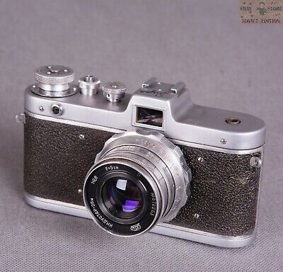 $ CDN35.18 • Buy Vintage Soviet Photo Camera Zarya Russian Made In USSR