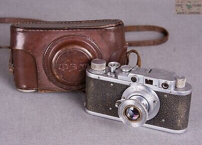 $ CDN77.41 • Buy  Russian Vintage Camera Fed Soviet Photo In Case Made In USSR