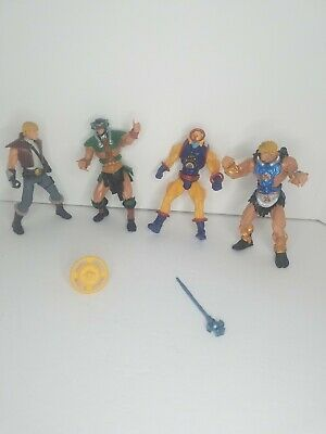 $24.75 • Buy Masters Of The Universe 200X - He-Man - Prince Adam - Tri-Klop - 2002 Figure Lot