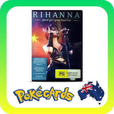 AU9.88 • Buy Rihanna - Good Girl Gone Bad Live  (DVD, 2008)