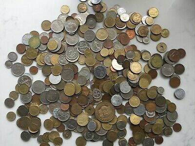 1.5kg Foreign Coins Mix • 1.99£