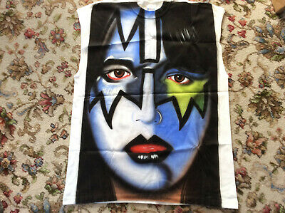 KISS Ace Frehley Airbrushed T-shirt By Nick Smith - Great Condition • 4.20£