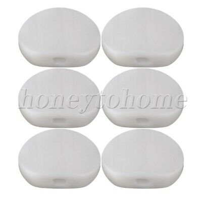 $ CDN9.39 • Buy 6pcs Grover Guitar Tuner Machine Head Buttons White Acrylic 4mm Hole Dia