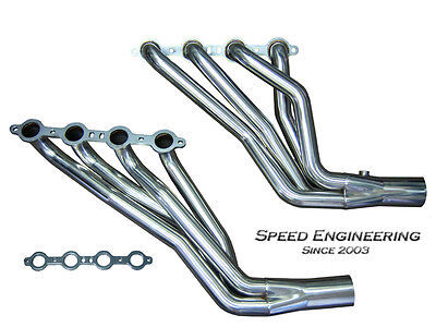 $289.99 • Buy Speed Engineering Silverado  Sierra 1 3/4  Longtube Headers 99-06 4.8L 5.3L 6.0L