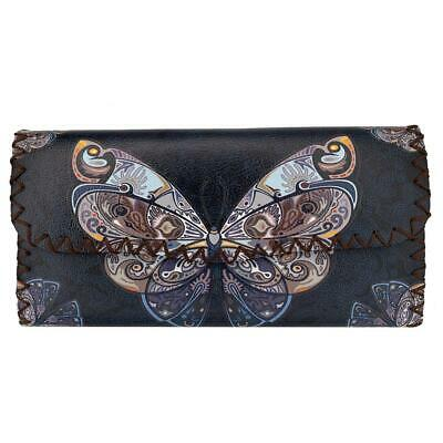 $27 • Buy Beautiful Monarch Butterfly Printed Leatherette Wallet Coin Purse Clutch Purse