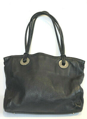 AU20 • Buy OROTON Bag. Black Leather Shoulder Bag,  Tote, Satchel.  A Bit Battered...
