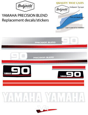 AU110 • Buy YAMAHA 90hp PRECISION BLEND  Replacement Outboard Decals