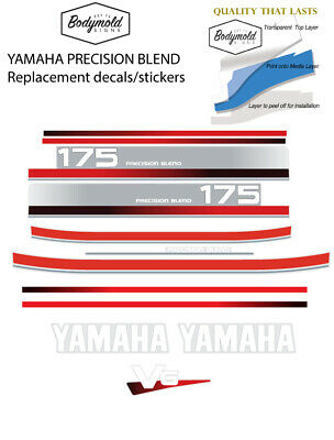 AU125 • Buy YAMAHA 175hp PRECISION BLEND  Replacement Outboard Decals