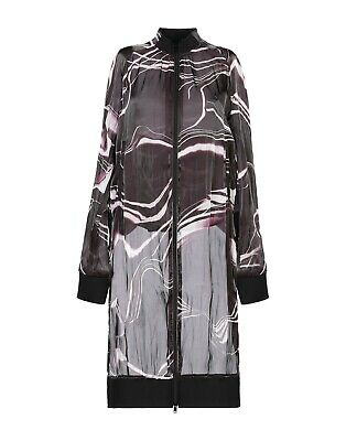 AU565.60 • Buy Adidas Y-3 Yohji Yamamoto Women's W Aop Elongated Semi-Sheer Bomber Jacket Sz L