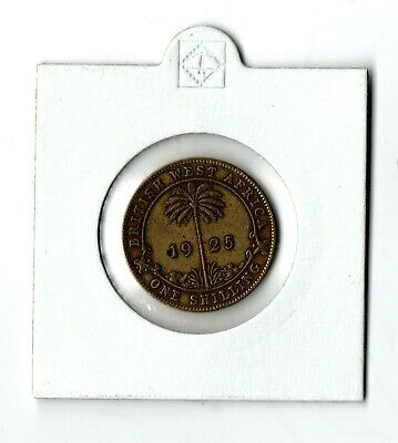 £35 • Buy 1925 British West Africa One Shilling Coin