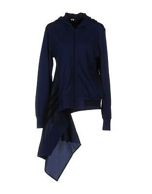 AU283.49 • Buy Y-3 Yohji Yamamoto Women's Athletic Track Jacket Asymmetrical Hooded Blouson M,L