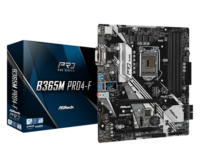 AU134 • Buy Asrock B365M Pro4-F Intel LGA 1151 MATX Gaming Motherboard DDR4 Crossfire HDMI