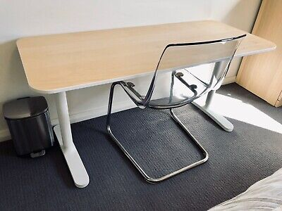 AU38.46 • Buy IKEA BEKANT Desk With Chair