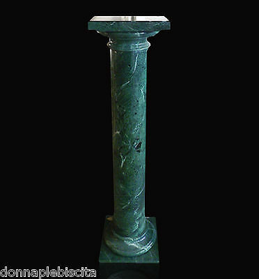 Column Marble Green Alps Green Classic Marble Column Home Design Made IN Italy • 471.44£