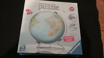 $20.99 • Buy Ravensburger 3d Puzzle With Display Stand, The World Globe, New