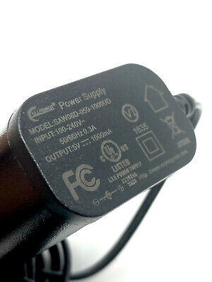 $8.95 • Buy AC Power Supply Adapter Charger 5V 1000mA 100-240V 50/60hz 0.3A