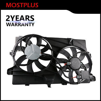 $102.99 • Buy MOSTPLUS Dual Radiator Cooling Fan Assembly For 2007-2015 Ford Edge Lincoln MKX