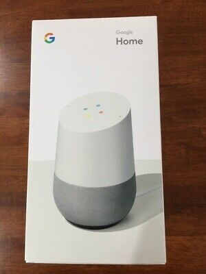 AU80 • Buy Google Home Smart Speaker & Home Assistant   - White Slate-Brand New Unopened