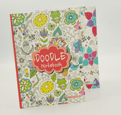 A5 Doodle Colouring Notebook Notepad 96 Lined Pages 1 Book At Random • 2.21£