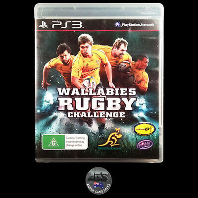 AU9.95 • Buy Wallabies Rugby Challenge (Sony PS3) VGC + Manual - Fast Post - Sports
