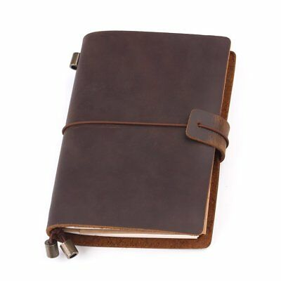 £13.99 • Buy Leather Notebook Journal Handmade Vintage Leather Travel Diary Notepad