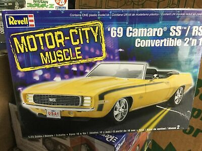 $14 • Buy 1969 Chevy Camaro SS/RS Convertible Factory Sealed