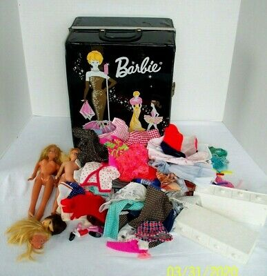 $ CDN28.19 • Buy  Vintage Barbie Mixed Lot Case Dolls Clothes Clone Shoes Susy Goose Good To TLC