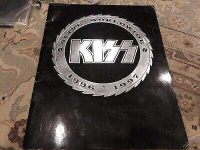 Ace Frehley Signed 1996-1997 KISS Worldwide Concert Program - Signed In Person • 25.29£