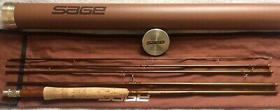 $314 • Buy Sage SLT 690-5 6 Weight 9' 5 Peice Travel Fly Rod Excellent!