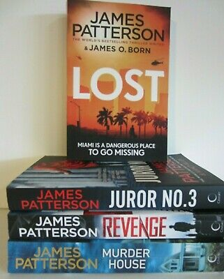 AU35 • Buy JAMES PATTERSON BOOKS X 4