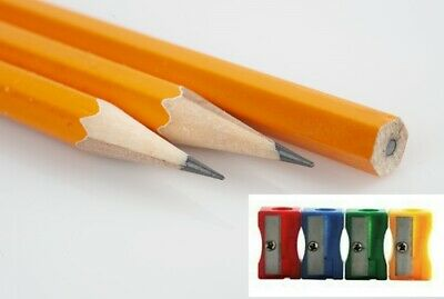 £1.99 • Buy Pack Of 6 HB Pencils Good Quality And 1 Free Sharpener