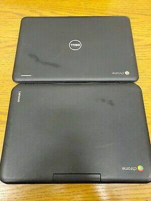 $ CDN63.46 • Buy Lot Of 2 Chromebooks Dell 3180 And Lenovo N22-20 Laptops Only FOR PARTS