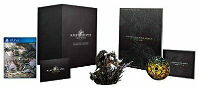 AU413.91 • Buy MONSTER HUNTER WORLD COLLECTOR'S EDITION With Original Rubber Key Holder PS4