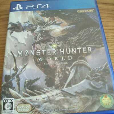 AU206.46 • Buy CAPCOM Monster Hunter World PS4 Game Software Hunting Action Used Good