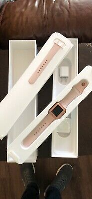 $ CDN197.44 • Buy Apple Watch Series 3 - Rose Gold With Pink Sand Sport Band (GPS + Cellular) -...