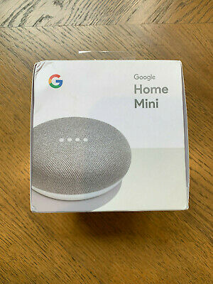 AU20.50 • Buy BRAND NEW Google Home Mini Smart Assistant Chalk