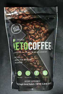 $19.99 • Buy It Works! Keto Coffee - 15 Individual Packets - New Sealed