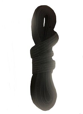 AU6.50 • Buy Black & White Elastic Cord 6mm Width Sewing Projects 5m 10m 20m 40m 50m