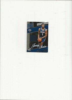 $24.99 • Buy 2019-20 Donruss Zion Williamson Jersey Series Patch Rookie Card,