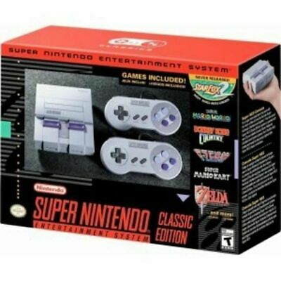 $ CDN246.79 • Buy Super Nintendo Entertainment System SNES Classic Edition NEW!