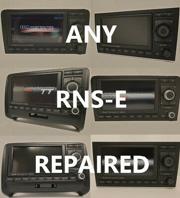 £0.99 • Buy Audi Navigation Plus Rnse Rns-e A3 A4 Tt A6 R8 Lcd And Led Repairs And Upgrades