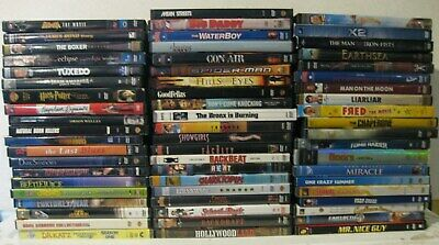 $ CDN42.24 • Buy Lot Of 60 ASSORTED LOT DVDs Movies Action Adventure Drama Family Comedy Suspense