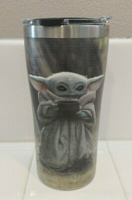 $39.99 • Buy The Child Baby Yoda Travel Tumbler Mug By Tervis Star Wars The Mandalorian NEW