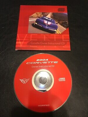 $5 • Buy 2004 Corvette Owners Instructional Cd Grand Sport
