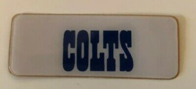 $7.95 • Buy Indianapolis Colts Full Size Football Helmet Decal Front BUMPER !
