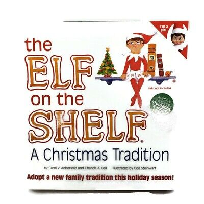 AU64.11 • Buy Elf On The Shelf Blue Eyed Girl Elf  A Christmas Tradition Book Make It Your Own
