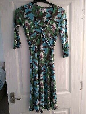 Ladies Brora Dress Size 8 Excellent Quality And Beautiful Condition • 12£