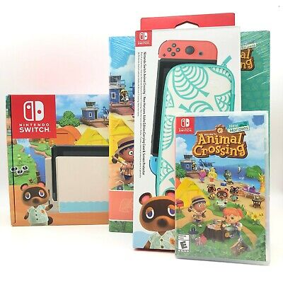 $ CDN1543.86 • Buy Nintendo Switch Animal Crossing: New Horizon Special Edition Lot Collection