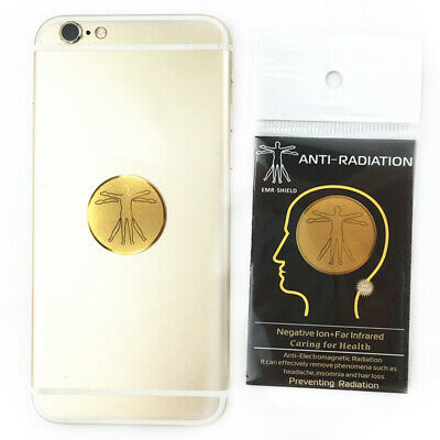 Anti Radiation Protector Sticker For Mobile Phones Laptop Ions EMF Blocker New • 7.59£